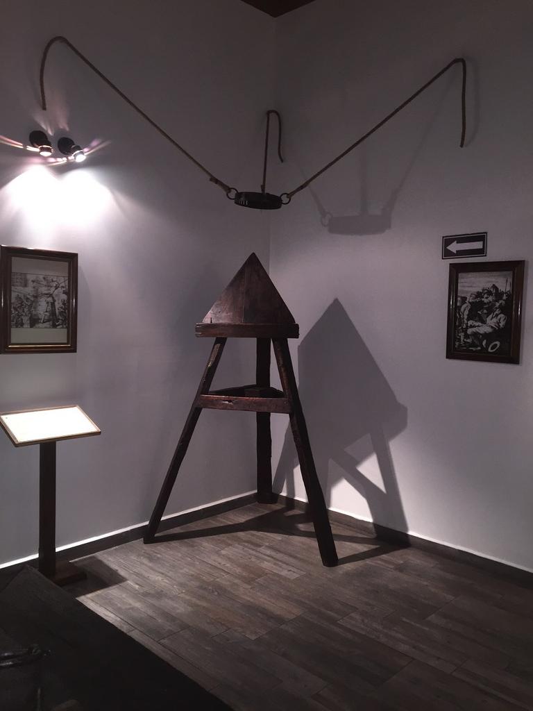Museo de la Tortura : Museos México : Sistema de