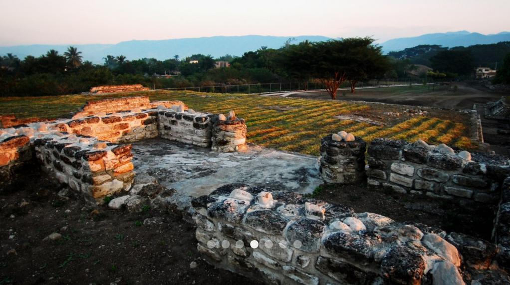 Zona arqueológica de Chiapa de Corzo.