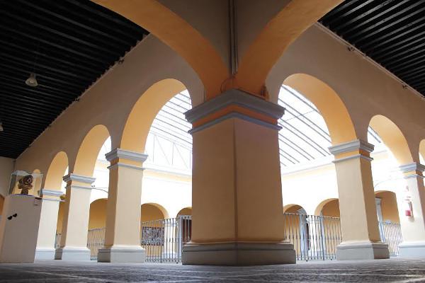Casa de cultura de puebla casas y centros culturales for Programa arquitectonico biblioteca